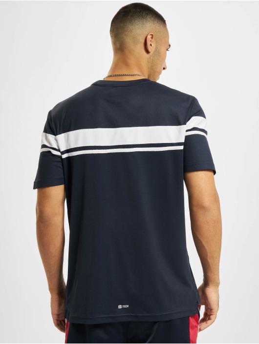 Sergio Tacchini T-Shirty Young Line Pro Y/Dyed niebieski