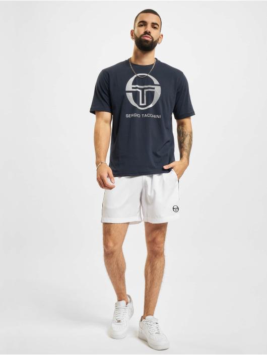 Sergio Tacchini T-Shirty New Elbow niebieski