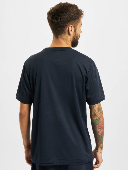 Sergio Tacchini T-Shirty Chevron niebieski
