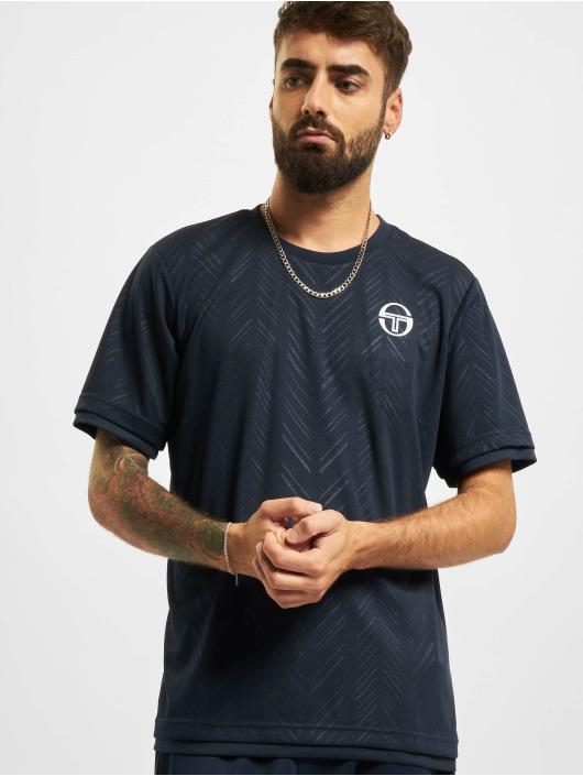 Sergio Tacchini T-skjorter Chevron blå
