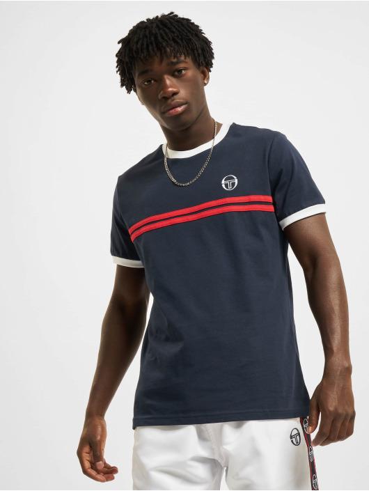 Sergio Tacchini T-skjorter Supermac 3 Archivio blå