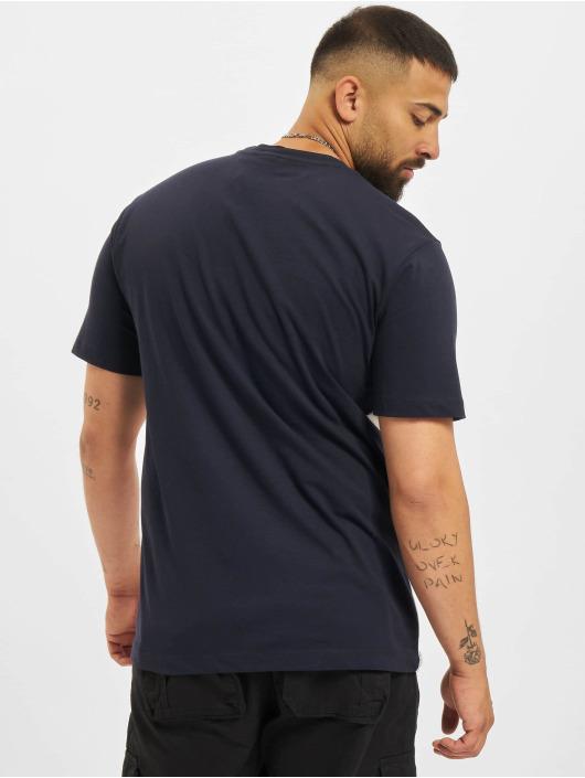 Sergio Tacchini T-skjorter Noden blå