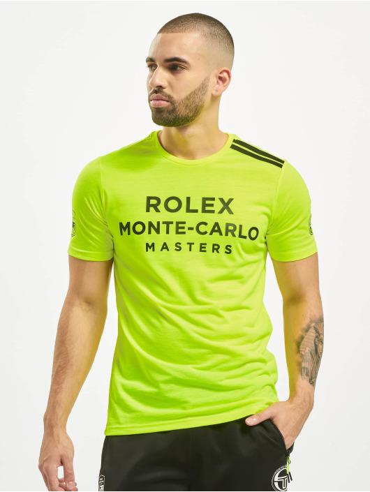 Sergio Tacchini T-skjorter New Irune gul