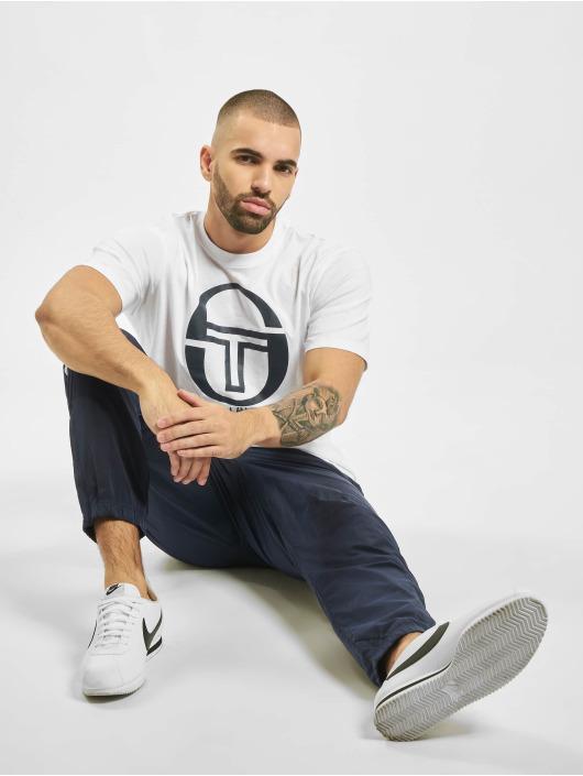 Sergio Tacchini T-skjorter Iberis hvit