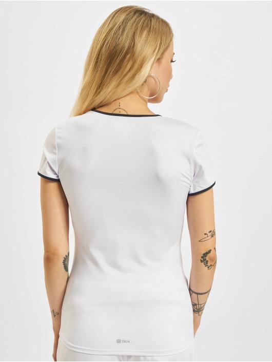 Sergio Tacchini T-skjorter Eva hvit