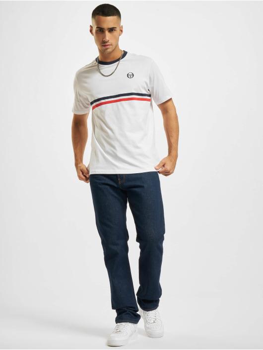 Sergio Tacchini T-skjorter Friday hvit