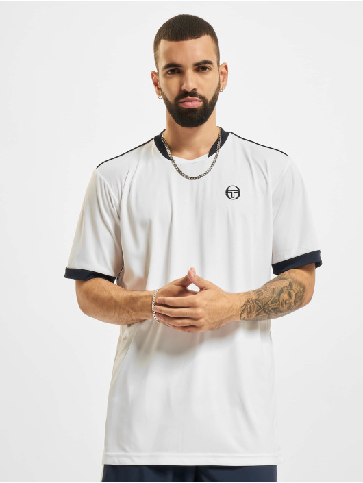 Sergio Tacchini T-skjorter Club Tech hvit