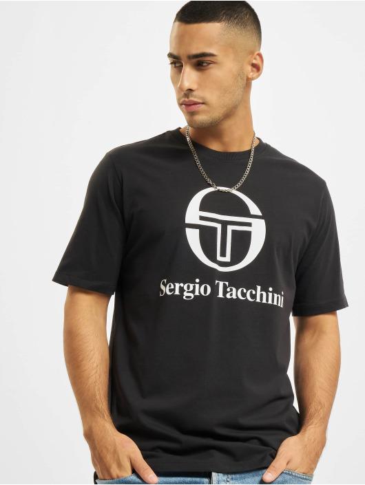 Sergio Tacchini T-skjorter Chiko svart