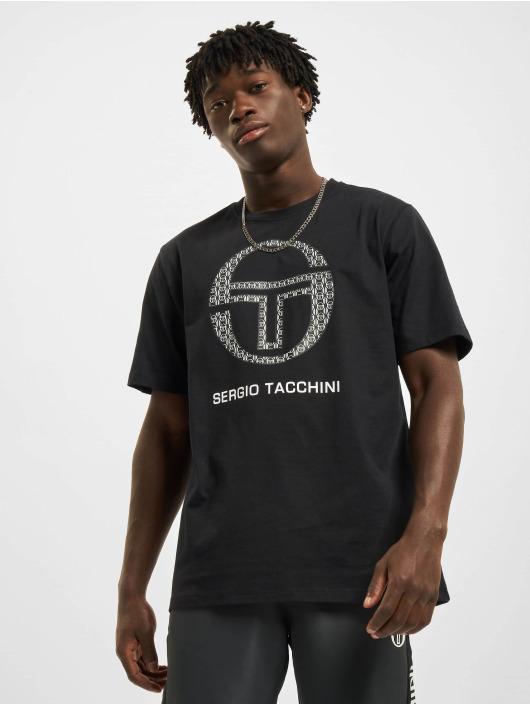 Sergio Tacchini T-skjorter Dust svart