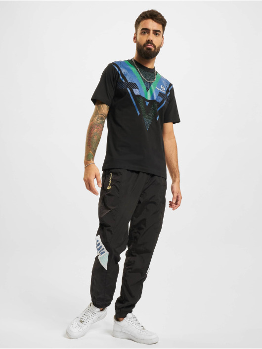 Sergio Tacchini T-skjorter Sinzio Archivio svart