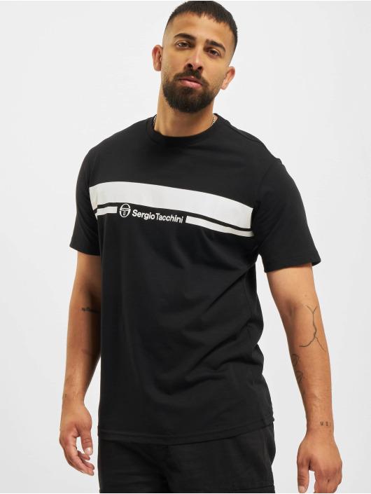 Sergio Tacchini T-skjorter Anise svart