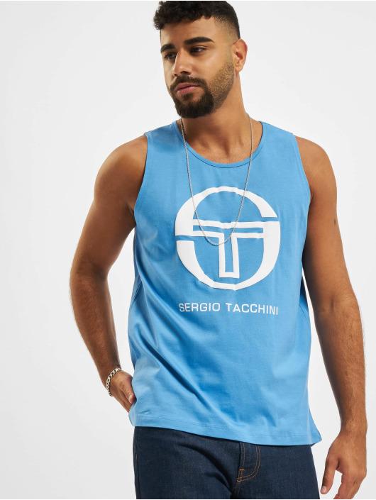 Sergio Tacchini Tank Tops Funes bialy