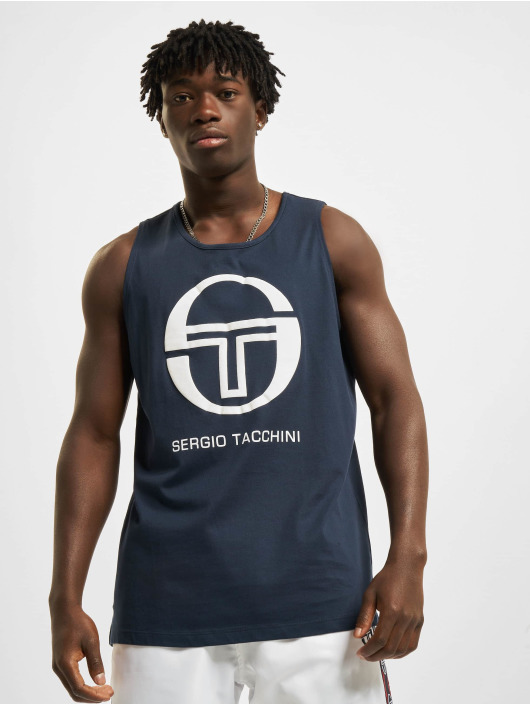 Sergio Tacchini Tank Tops Funes blue