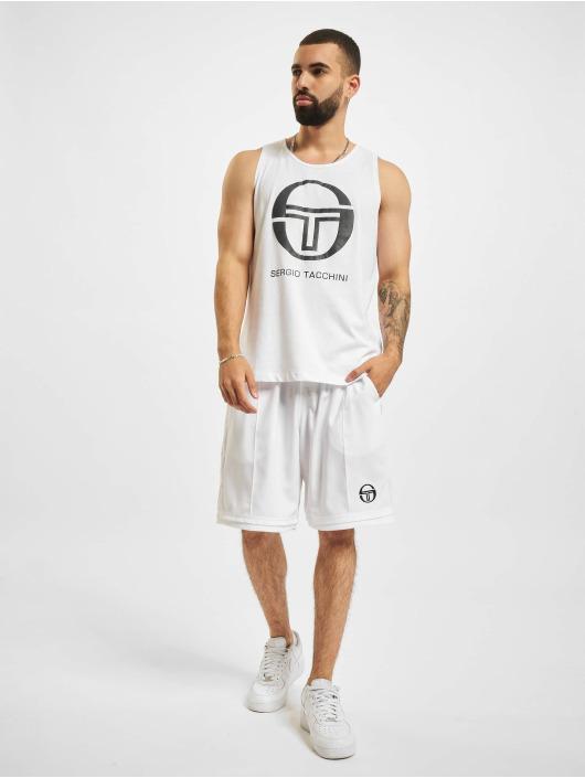 Sergio Tacchini Tank Tops Funes white
