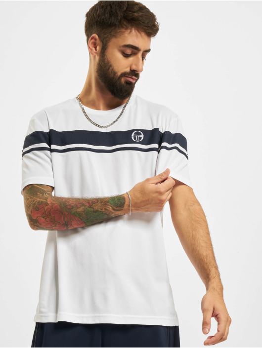 Sergio Tacchini Tričká Young Line Pro Y/Dyed biela
