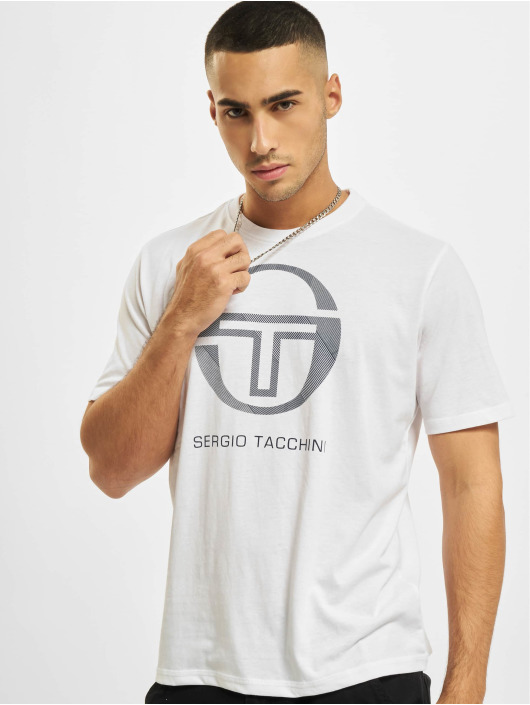Sergio Tacchini Tričká New Elbow biela