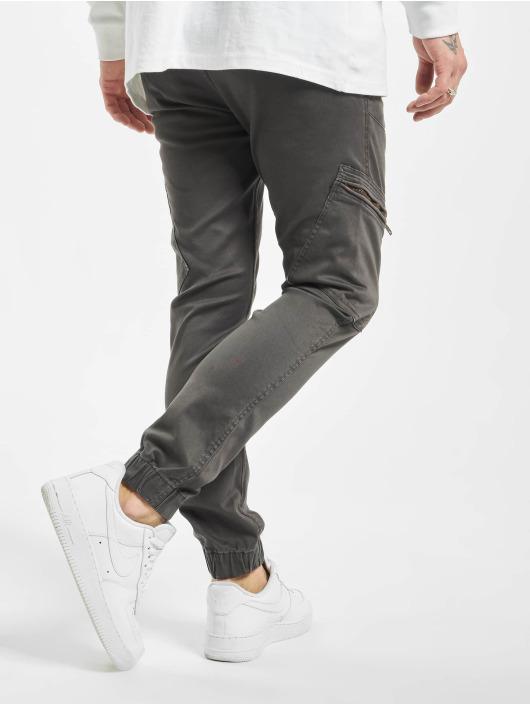 SHINE Original Reisitaskuhousut Curved Leg harmaa
