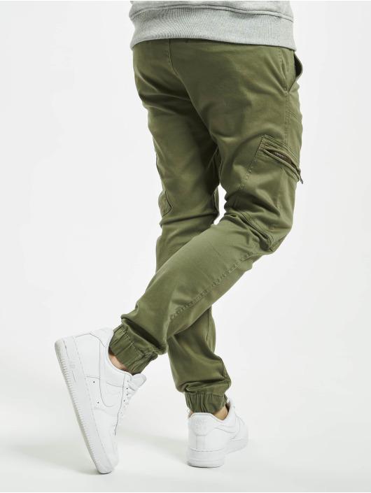 SHINE Original Reisitaskuhousut Curved Leg oliivi