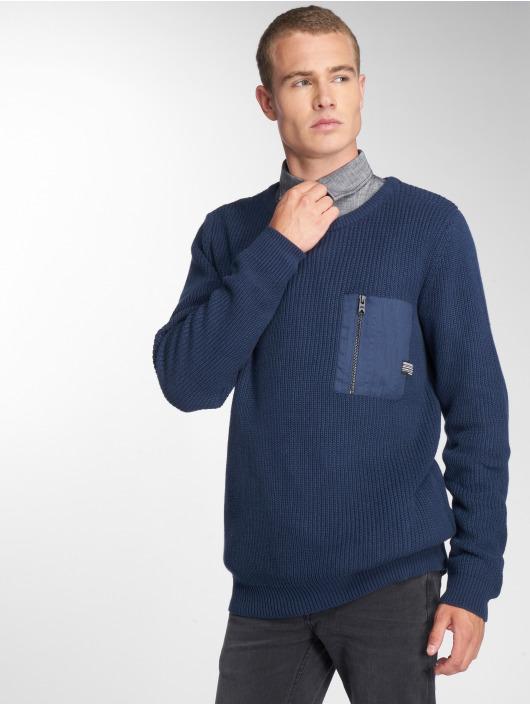 SHINE Original Svetry Knit modrý