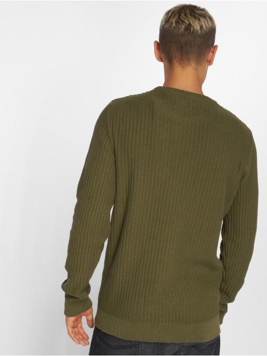 SHINE Original Svetry Patent Knit zelený