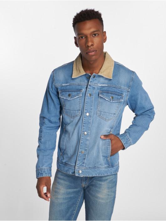 SHINE Original   Denim bleu Homme Veste Jean 526470 a1e0b6ac77eb