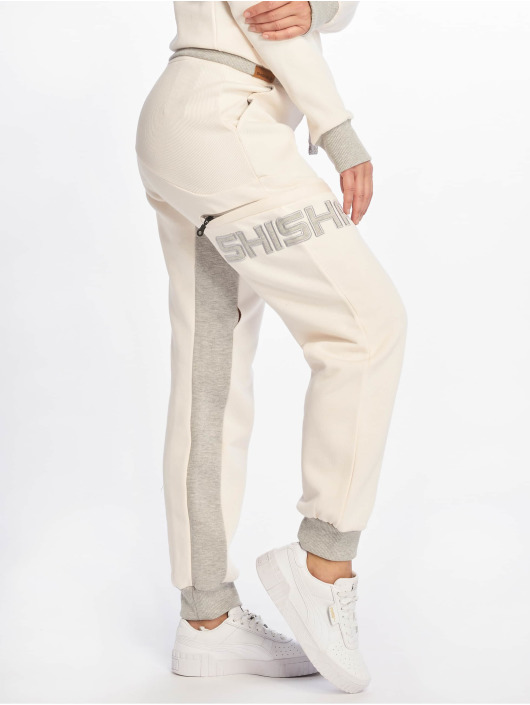 Shisha Sundag Sweat Pants Angel WingLight Ash