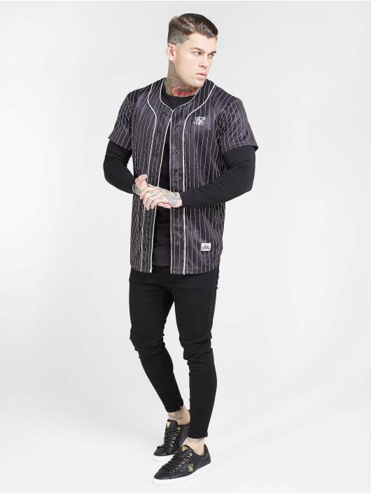 Sik Silk Úzke/Streč Drop Crotch èierna
