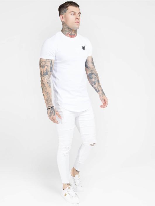 Sik Silk Úzke/Streč Skinny biela