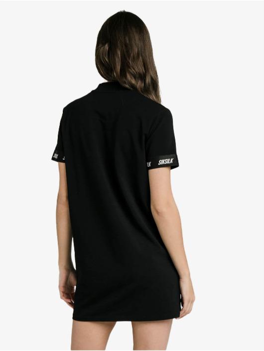 Sik Silk Šaty Tech Tape èierna