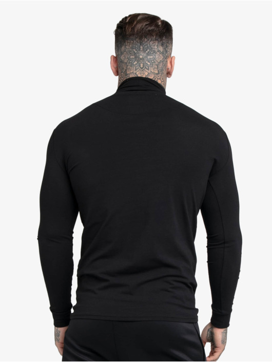 Sik Silk Водолазка Tranquil Turtle Neck черный