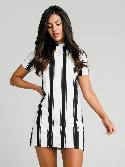 Sik Silk Платья Athena Stripe черный