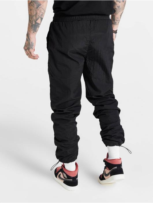 Sik Silk Спортивные брюки Toggle Cuff черный