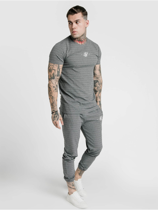 Sik Silk Футболка Siksilk Smart Gym черный