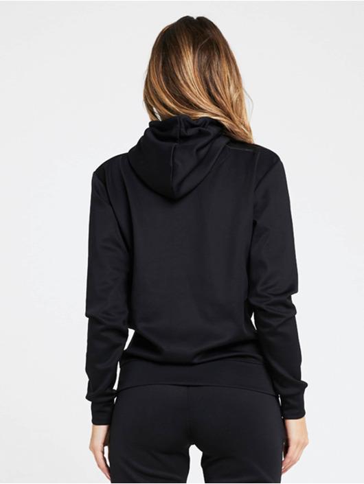 Sik Silk Bluzy z kapturem Poly Overhead czarny