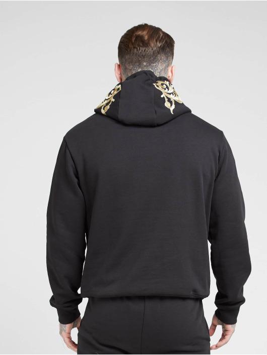 Sik Silk Bluzy z kapturem Overhead czarny