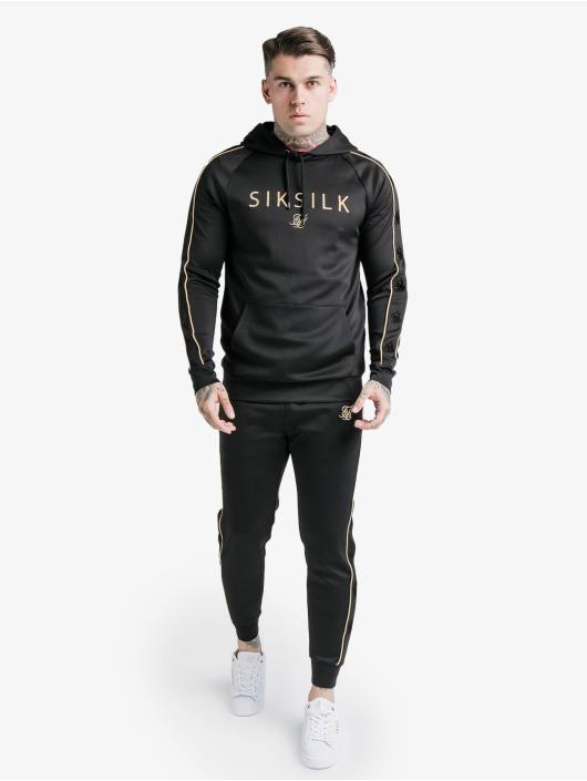 Sik Silk Bluzy z kapturem Astro Overhead czarny