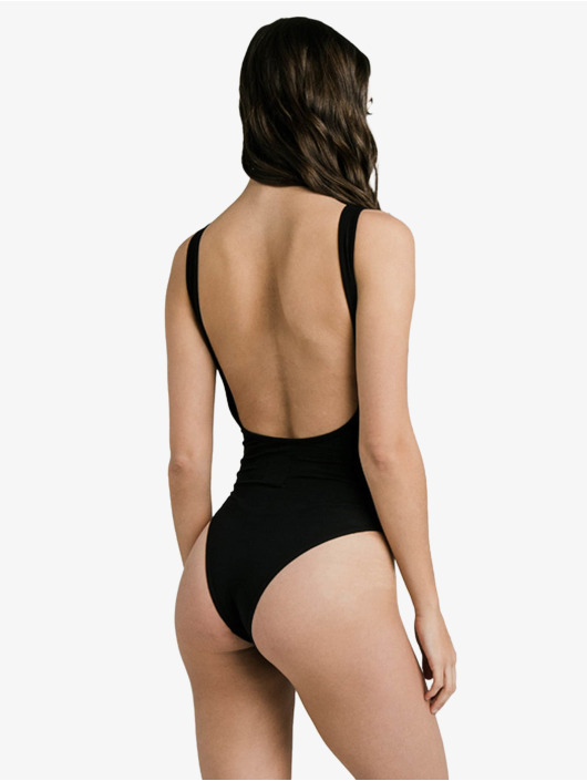 Sik Silk Body Backless czarny