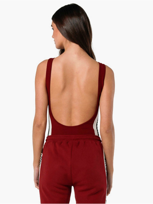 Sik Silk Body Backless czerwony