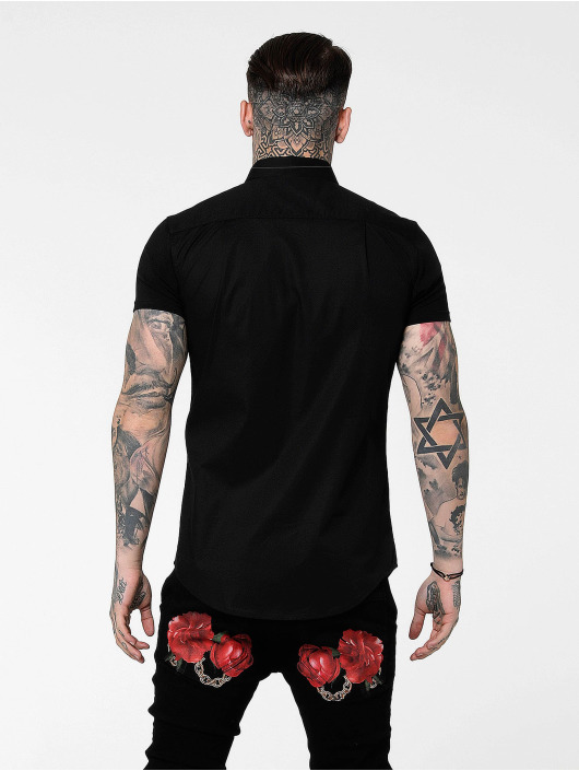 Sik Silk Camisa Venetian negro