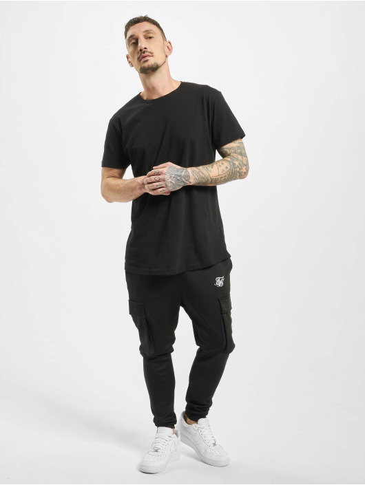 Sik Silk Cargo Poly Athlete black