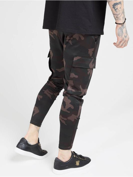 Sik Silk Cargohose Poly Athlete camouflage