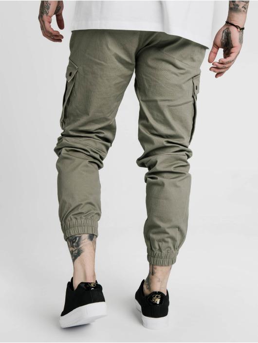 Sik Silk Chino bukser Cargo khaki