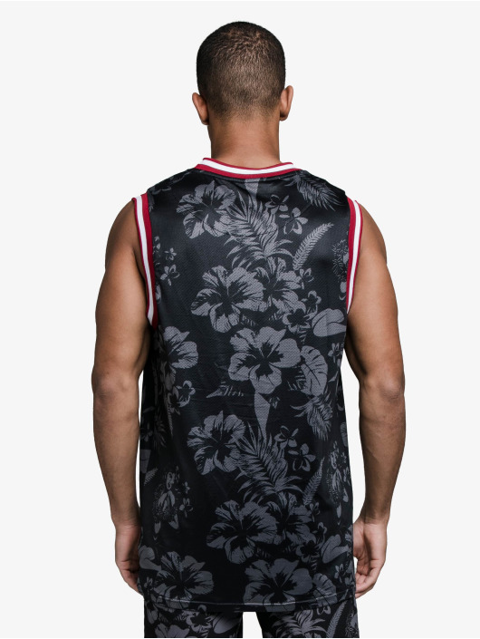 Sik Silk Débardeur Status Hawaii Basketball noir