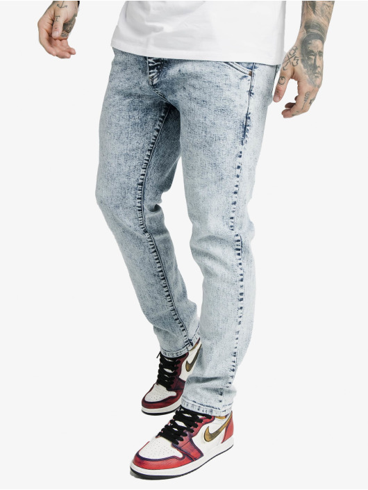 Sik Silk Dżinsy straight fit Cut Recycled Denim niebieski