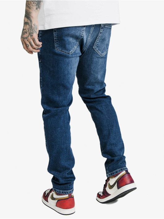Sik Silk Dżinsy straight fit Cut Recycled Denim niebieski