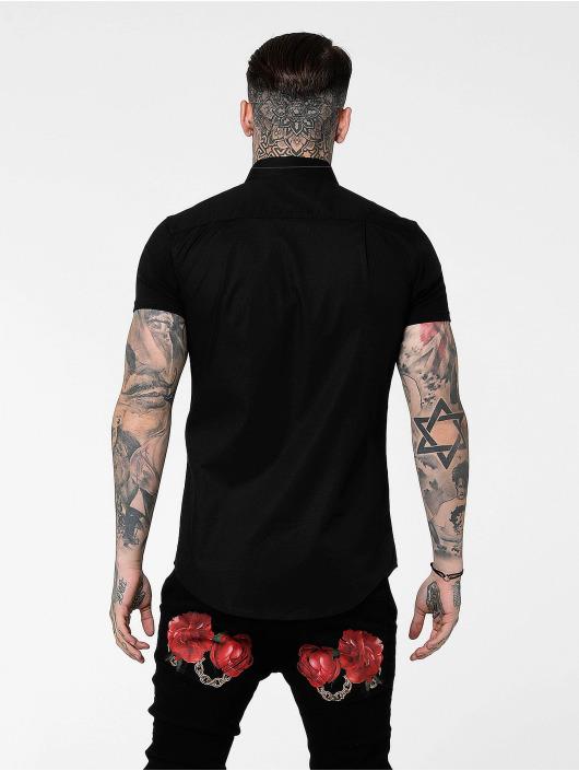 Sik Silk Hemd Venetian schwarz