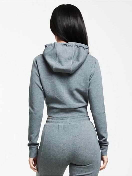 Sik Silk Hoodie Colour Signature grey