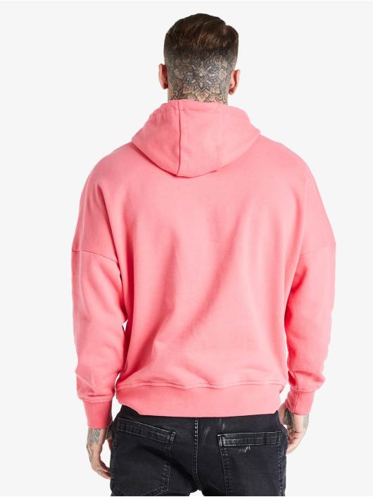 Sik Silk Hoodie Drop Shoulder Relaxed Fit pink