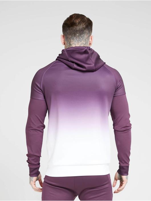 Sik Silk Hoodie Vapour Hybrid Sleeve Tape purple