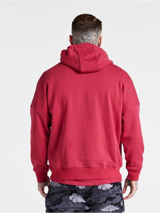 Sik Silk Hoodies X Steve Aoki Oversized růžový
